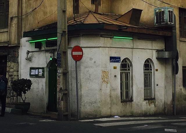 كوچكترين مسجد تهران -دزاشيب -عكس از علي ياوري