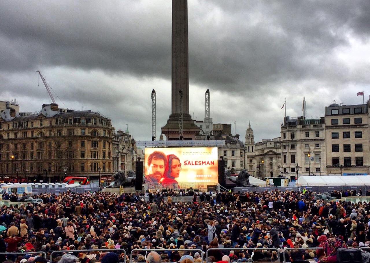 ترافلگار -شهرداري لندن -فيلم فروشنده