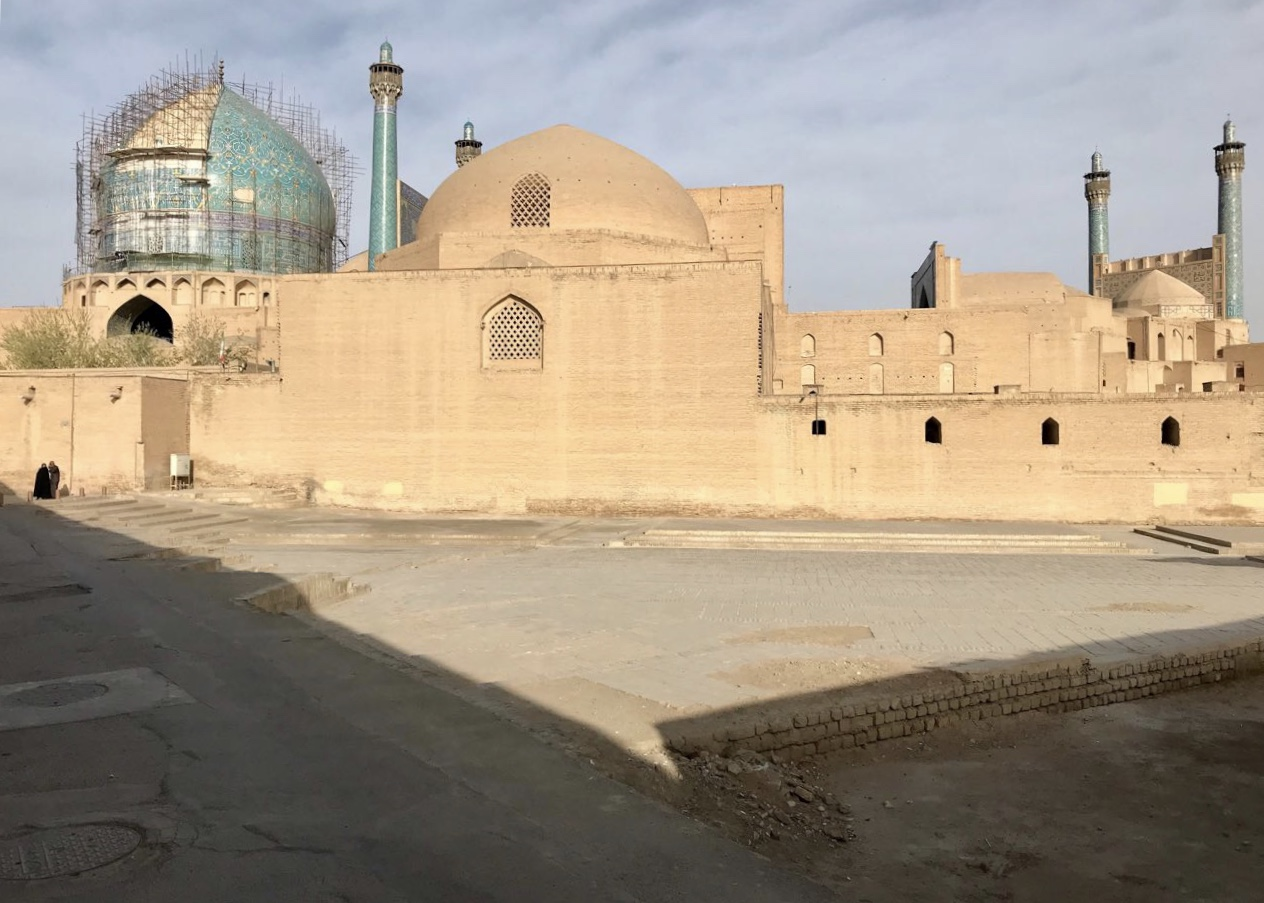 مسجد جامع عباسى ،اصفهان -معمارنت