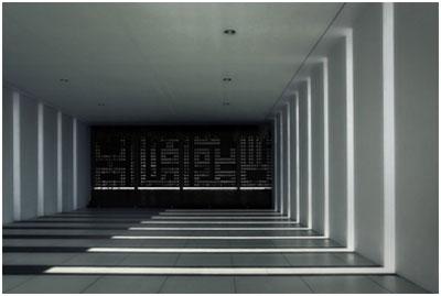 فضای داخلی مسجد